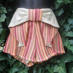 Anthropologie Shorts - Judith March Anthropologie  Bow Front Shorts